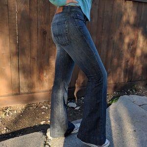 Lucky Brand Flared Denim Jeans